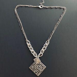 Park Lane Pewter Necklace